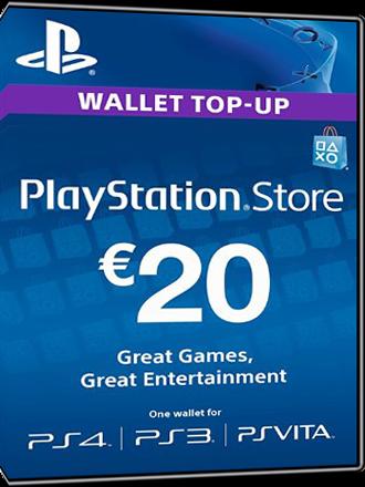 ps4 store karte Buy PSN Card, 20 Euro DE, Playstation Network   MMOGA ps4 store karte
