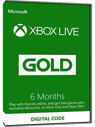 Xbox Live Gold - 6 month subscription Screenshot