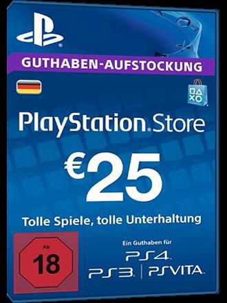 Playstation Network Karte.Psn Card 25 Euro De Playstation Network Credit