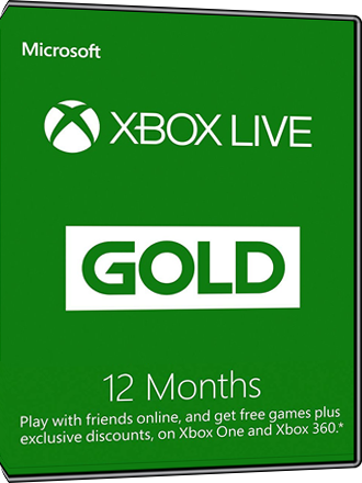 Xbox Live Gold - 12 month subscription [Global] Screenshot