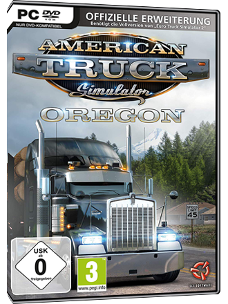 American Truck Simulator - Oregon (DLC) - EU Key Screenshot
