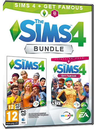 The Sims 4 + Get Famous Bundle (original game + expansion) Screenshot