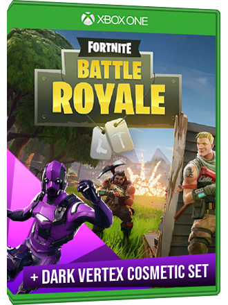 Fortnite Battle Royale Mode Dark Vertex Cosmetic Set Xbox One Download Code