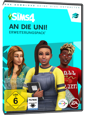 The Sims 4 - Discover University (DLC) Screenshot