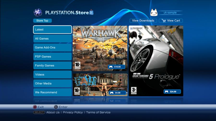 Playstation Network Card PSN Key 10 Dollar [USA] Screenshot 2