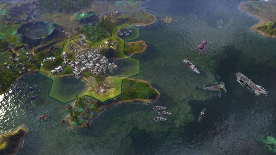 Civilization Beyond Earth - Rising Tide (Addon) Screenshot 3