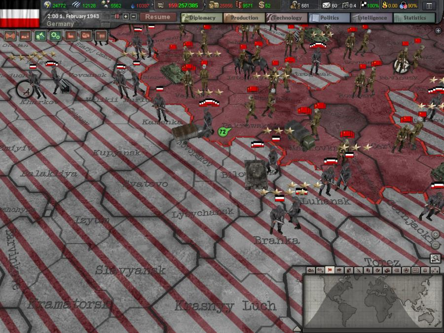 Hearts of Iron 3 Screenshot 6