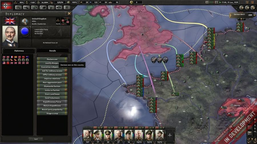 Hearts of Iron IV - Cadet Edition Screenshot 3