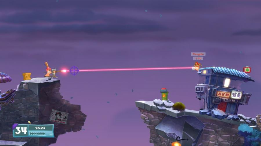 Worms W.M.D Screenshot 3