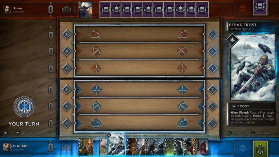 witcher 3 card game gwent beta