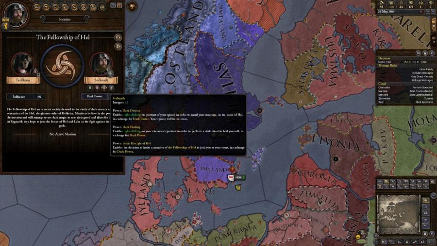 Crusader Kings II - Monks and Mystics (DLC) Screenshot 3