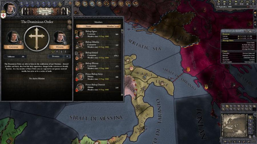 Crusader Kings II - Monks and Mystics (DLC) Screenshot 2