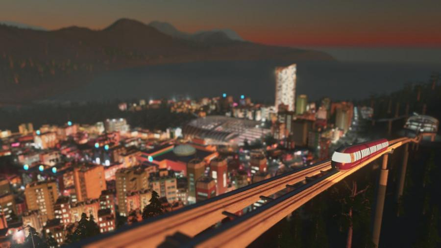 Cities Skylines - Mass Transit (DLC) Screenshot 1