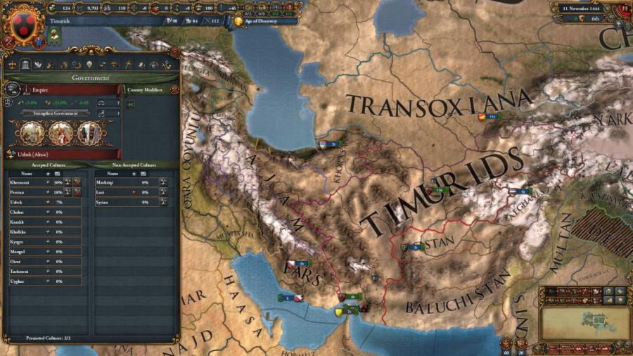 Europa Universalis IV - Cradle of Civilization (DLC) Screenshot 8