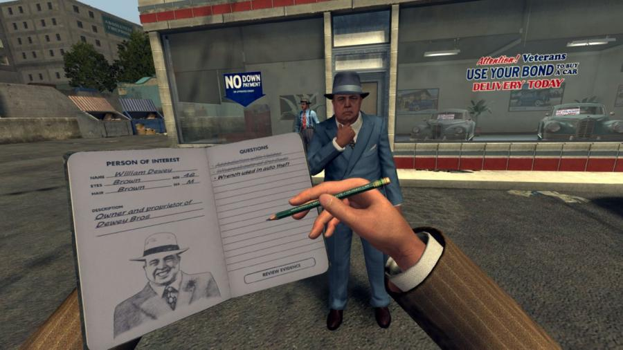 LA Noire - The VR Case Files Screenshot 8