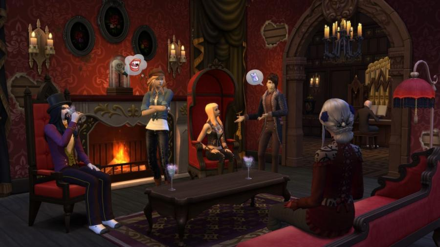 The Sims 4 - Vampires (DLC) Screenshot 2
