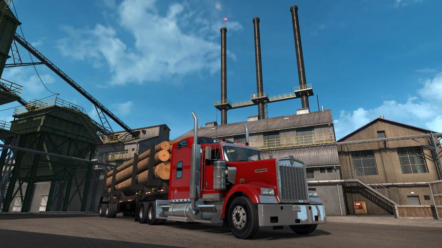 American Truck Simulator - Oregon (DLC) - EU Key Screenshot 2