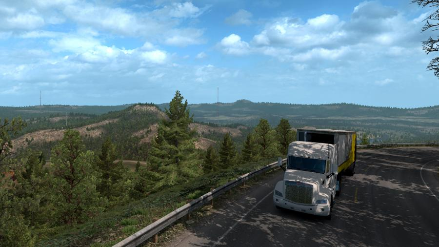 American Truck Simulator - Oregon (DLC) - EU Key Screenshot 1