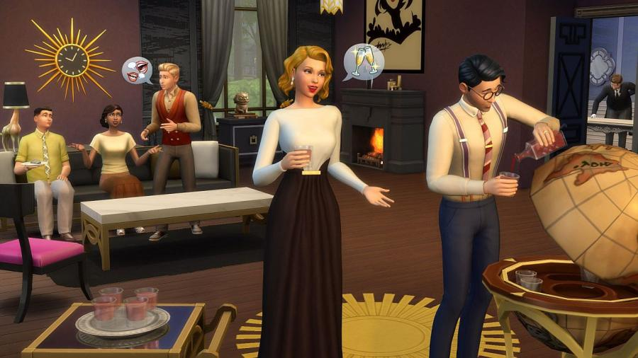 The Sims 4 - Vintage Glamour Stuff (DLC) Screenshot 2