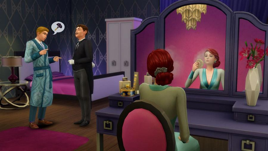 The Sims 4 - Vintage Glamour Stuff (DLC) Screenshot 3