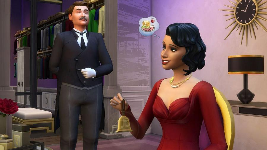 The Sims 4 - Vintage Glamour Stuff (DLC) Screenshot 4