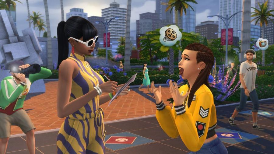 The Sims 4 + Get Famous Bundle (original game + expansion) Screenshot 2